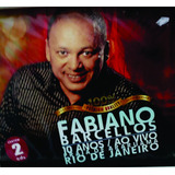 Cd   Playback Fabiano Barcellos   10 Anos Ao Vivo [original]